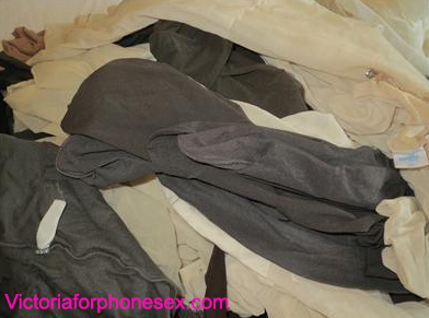Victoria's Worn Pantyhose for sale